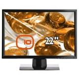 Edge10 T223 Ulitmate 22 inch Wide Hard Glass Monitor 1000:1 300cd/m2 1680 x 1050 5ms DVI (Black)
